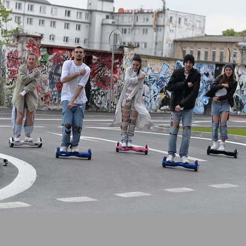 Hoverboards show